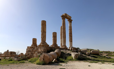 Temple of Hercules, Amman, Jordan