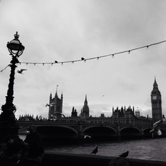 london from the Southbank