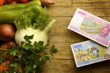 Franc Franco CFA CFAフラン Франк КФА 非洲法郎 فرنك أفريقي