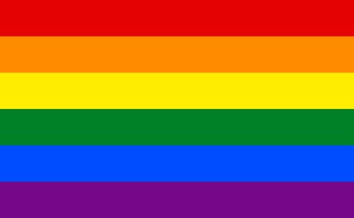 The Gay Pride official flag