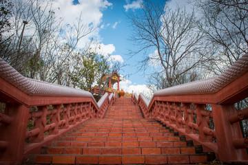 Abstract Climb Temple
