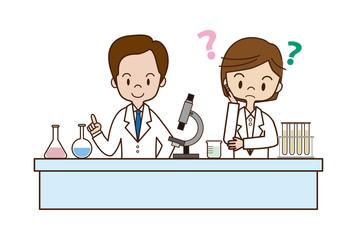 博士と助手