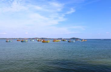 Рыболовецкие корабли, Шри-Ланка
