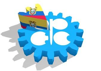 ecuador as a piece of opec gear cake