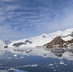 Antarctica Paradise Bay ice floating