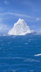 Antarctica iceberg floating