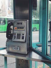 Korean public telephone