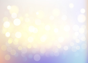 Vanilla bokeh background, abstract with defocused lights.