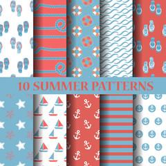 10 different summer patterns