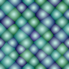 Seamless atom pattern