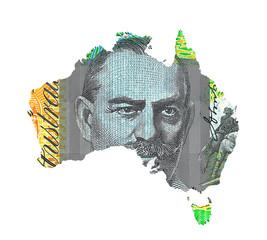 Australian Dollar Map