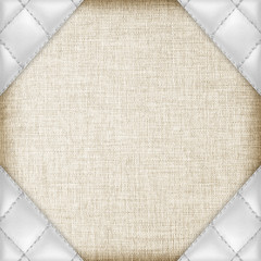 leather textured with fabric background