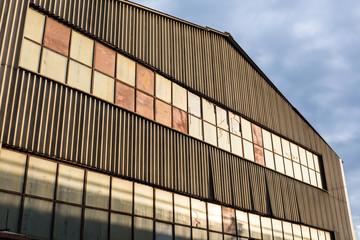 Old factory facade