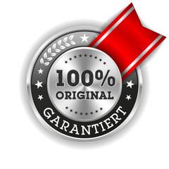 Silber 100 Prozent Original Siegel Mit Roter Scherpe
