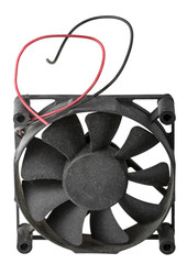 Old fan for cooling CPU