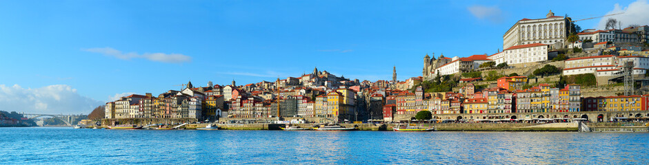 Porto panoramic view, Portugal
