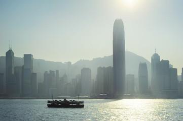 Hong Kong silhouette
