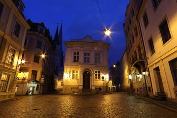 Traditional architecture Baltic States, Riga