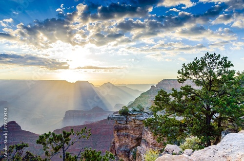 Foto op Canvas Canyon Sunrise at The Grand Canyon in Arizona, USA
