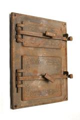 vintage stove door