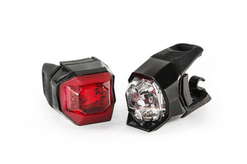 Safety lights for the bicycle