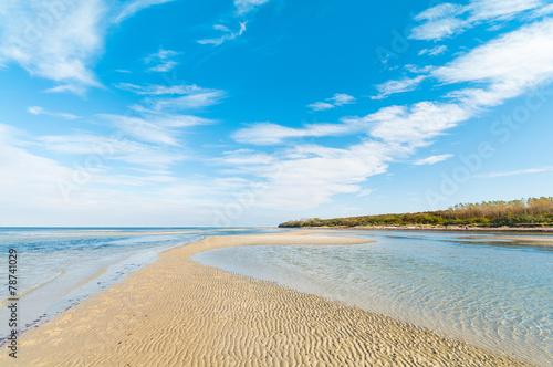 Küstenlandschaft, Sandbank, Insel - 78741029