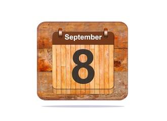 September 8.