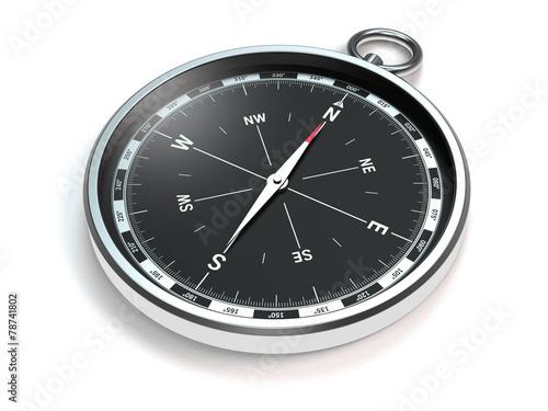 Leinwanddruck Bild Kompass