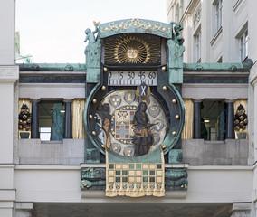 Ankeruhr Hoher Markt Wien
