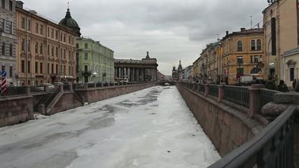 St. Petersburg in winter