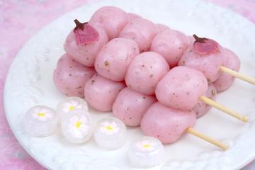 桜のお団子