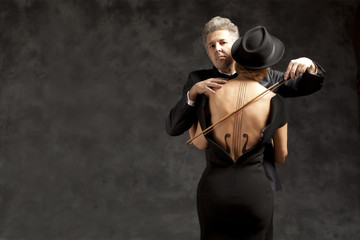 Muse. Musician playing violin