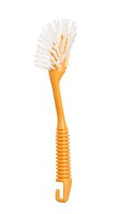 Orange brush