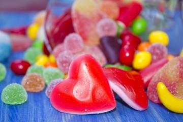 assortment of jellies