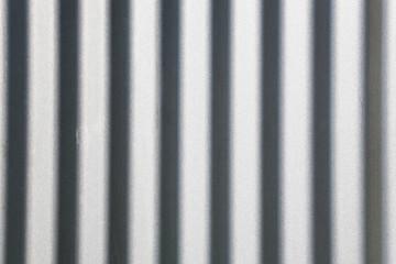 Wellblech, Metallwand