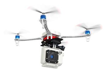3d UAV drone with a camera