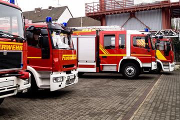 Autoreihe - Feuerwehr
