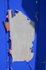 paint bursts on metal