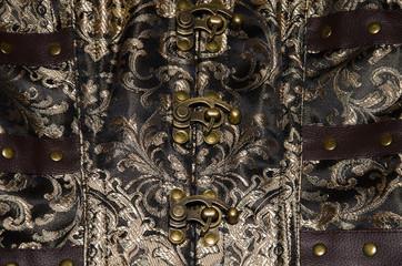 Chiusura del corsetto