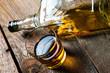 Leinwanddruck Bild - Alcohol. whiskey