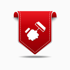 labor Red Vector Icon Design