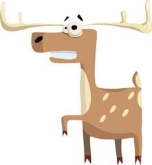 gay icon deer. illustration