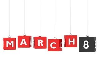 March 8 - International Women's Day