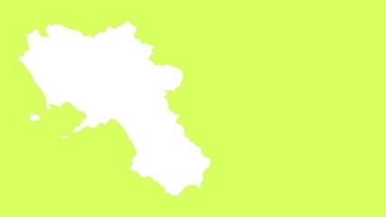 Campania: negative silhouette