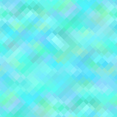 Blue Geometric Background, Seamless Pattern