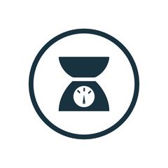 kitchen scales icon