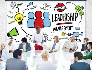 Diversity Business People Leadership Management Meeting Concept