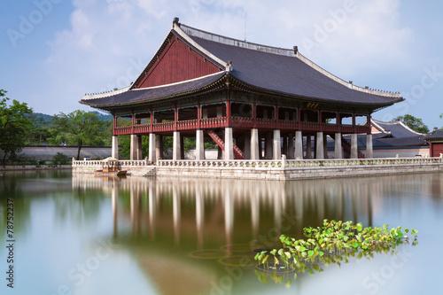Gyeonghoeru Pavilion of Gyeongbokgung Palace, Seoul. - 78752237