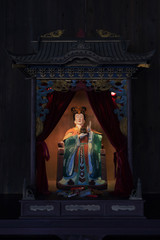 taoism statue in relic