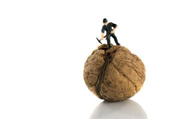 hard to crack walnut